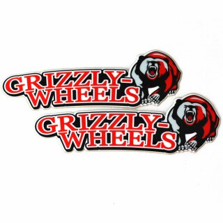 Grizzly-Wheels Official Fender Sticker