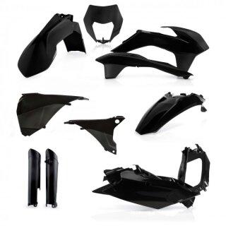 Acerbis Full Kit KTM EXC 2014-2015 Black